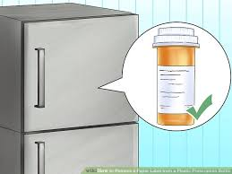 4 Ways To Remove A Paper Label From A Plastic Prescription Bottle