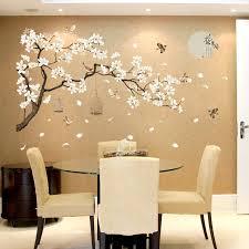 187 128cm big size tree wall stickers