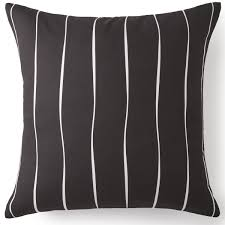 black and white euro sham. Wonderful Sham Scrollwork Euro Sham  Black U0026 White Stripe Email A Friend For And T
