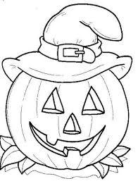 Small Picture Halloween Coloring Page Preschool Halloween Coloring Sheets