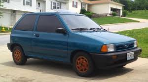 1992 ford festiva after 10 months of ownership