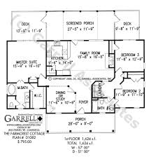 Farmcrest Cottage House Plan   Active Adult House Plansfarmcrest cottage house plan   st floor plan