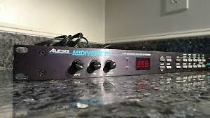 Midiverb 4 Program Chart Signal Processors Rack Effects Alesis Midiverb Iii