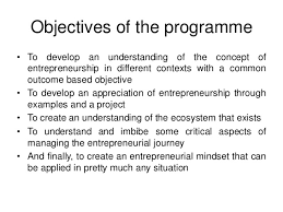 Objectives ...