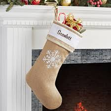 snowflake christmas stockings. Delighful Snowflake Personalized Burlap Christmas Stockings  Rustic Chic 15107 With Snowflake A