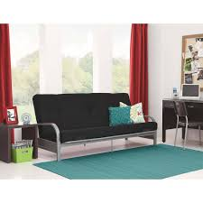 office futon. Mainstays Silver Metal Arm Futon Frame With Full Size Mattress, Multiple Colors - Walmart.com Office C