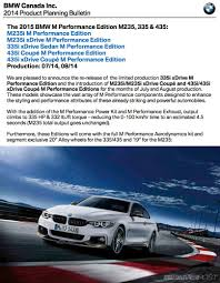 BMW Canada - New Limited 335i/435i (and M235i) M Performance ...