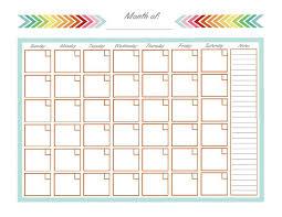 Home Management Binder Monthly Calendar Home Management
