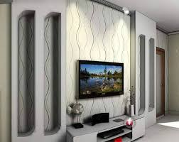 Wall For Living Rooms Alluring Wall Design Ideas For Living Room L23q Realestateurlnet