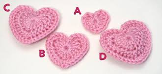 Crochet Heart Pattern Free Gorgeous Blog PlanetJune By June Gilbank Love Hearts
