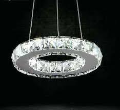 crystal ring chandelier led ring chandelier led ring chandelier lighting led crystal