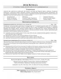 Sample Cover Letter For Insurance Underwriter Position Jo Sevte