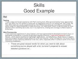Resume Types Simple Skills And Qualifications To Put On A Resumes April Onthemarch Co