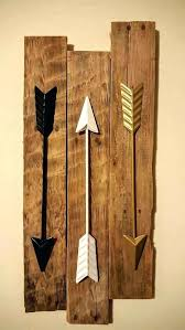 arrow wall decor canada diy wooden metal