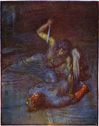 beowulf s borrowed sword fails a quick guide to facing off  beowulf s borrowed sword fails a quick guide to facing off against a water witch ll 1518 1528 a blogger s beowulf