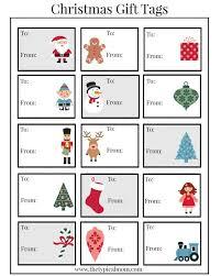 Free Printable Christmas Labels Free Christmas Printables