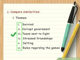how to write an outline sample outlines wikihow image titled write an outline step 8
