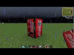 How To Make Vending Machine In Minecraft Pe Gorgeous SnaggeCraft With Coke Vending Machine Minecraft Texture Pack