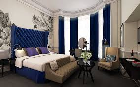modern bedroom with blue touch bedroom luxurious victorian decorating ideas