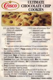 chocolate chip cookies recipe card. Contemporary Chip Ultimate Chocolate Chip Cookies Recipe Clipping On Card T