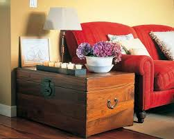 Room decor ideas, chests and trunks in home interiors