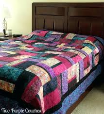 jewel toned bedding tone quilt set this queen size quilt was handmade by my mom and