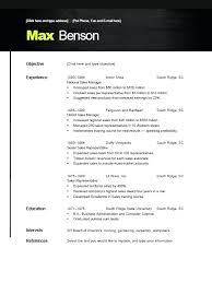 Open Office Resume Template Free Cool Resume Templates For Openoffice Open Office Template Free 28
