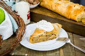 Recipes Apple Almond Strudel Hallmark Channel