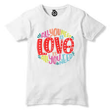 All You Need Is Love Music T Shirt Bible Quote Song Lyric Top Mens Womens 390 Personality 2018 Brand Short Sleeve Tops Tee Hip