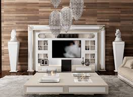Tv Wall Unit Luxury Tv Wall Unit Designed And Produced By Vismara Design