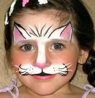 simple kids kitty face kitty face paintcat