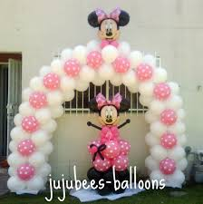 Owl Balloon Decorations Minnie Mouse Balloon Arch Juju Bees Balloon Decorating Pink