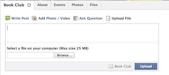 facebook max video size facebook rolls out file sharing for all groups exclusive