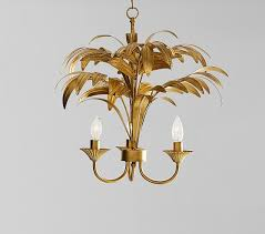 lilly pulitzer polished palm tree chandelier