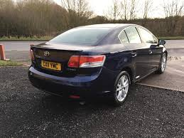 Used Toyota Avensis Saloon 2.0 D-4d Tr 4dr in Worcester ...