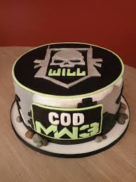 Call Duty Cake For Will CakeCentral