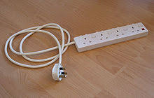 extension cord a power strip power indicator and individual switches for each socket uk
