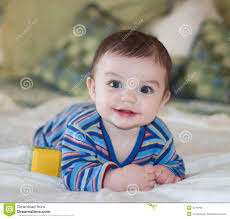 Baby Boy Image Free Download Baby Boy Smiling While Posing Stock Photo Image Of Content
