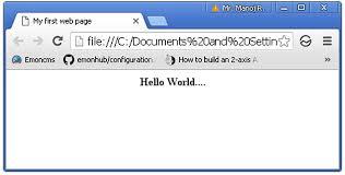 Esp8266 Web Server With Html Web Page Circuits4you Com