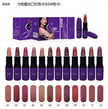 high quality new arrivals hot makeup selena dreaming of you matte lipstick 12 color 3g with name