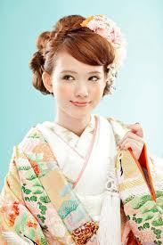 和装ウェディングに似合う髪型特集2019 азиатская традиционная