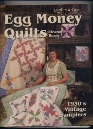 94 best QUILTING WITH ELEANOR BURNS images on Pinterest ... & Egg Money Quilts Eleanor Burns for reproducing VTG Samplers Spiral Bound Adamdwight.com