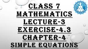 class mathematics chapter