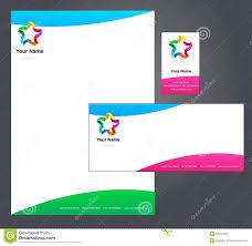 Corporate Letterhead Template Stock Vector Illustration 13097855