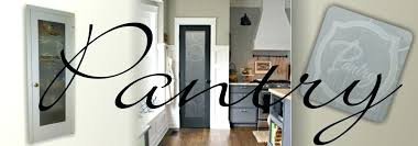 frosted glass pantry door stained etched home depot