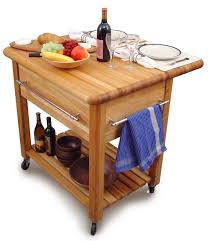 The Grand Workcenter Kitchen Island W/ Drop Leaf   Catskill Craftsmen On  Sale Free Shipping US48