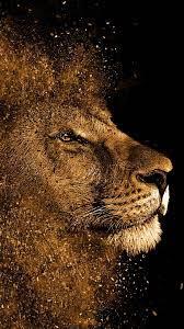 Lion painting art work,mobile wallpaper ...