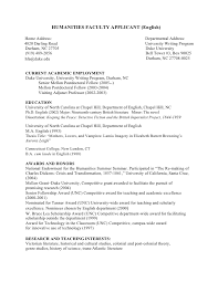 Curriculum Vitae Template Graduate School Application
