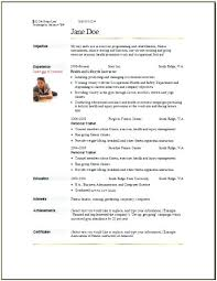 Fitness Instructor Resume Simple Fitness Instructor Resume Simply Instructor Resume Instructor Resume