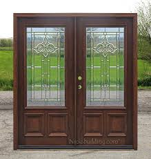 Front Doors double front doors with glass photos : Terrific Wood Double Front Doors With Glass Gallery - Ideas house ...